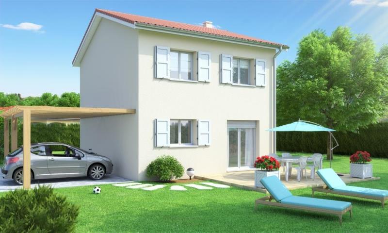 Maison individuelle etage contemporaine alixia 3 slci for Modele maison etage contemporaine