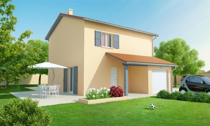 maison individuelle etage traditionnelle alixia 1 slci mod le maison rh ne alpes. Black Bedroom Furniture Sets. Home Design Ideas