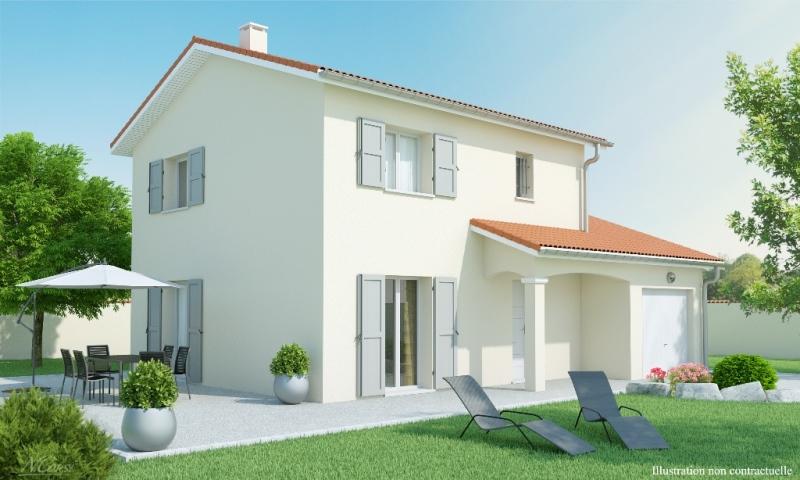 Maison individuelle etage contemporaine alixia 2 slci for Modele maison etage contemporaine