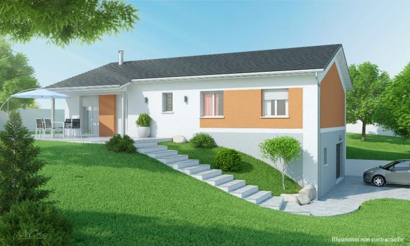 maison individuelle sous sol contemporaine rose des vents slci mod le maison rh ne alpes. Black Bedroom Furniture Sets. Home Design Ideas