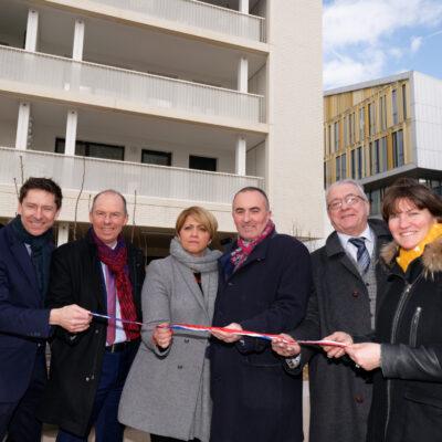 Inauguration de la résidence Esprit Gerland 2