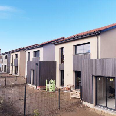 Maisons Axial inaugure l'Ecoquartier d'Echalas 3